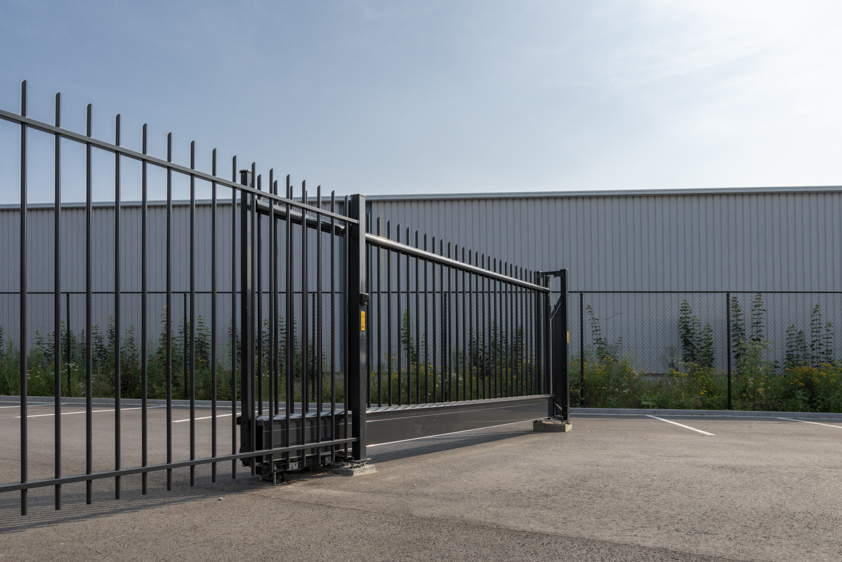 industriële schuifpoort, Oisterwijk
